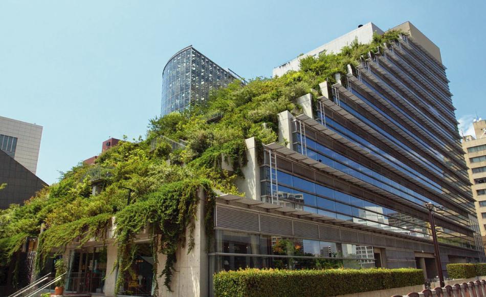 Edificio representativo de la arquitectura verde
