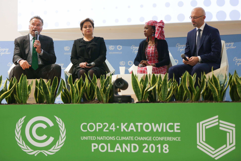 Reuniones en la COP24 en Polonia